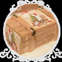 Ящики для подарков своими руками 31